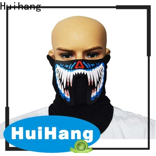 Huihang durable led light face mask marketing for party