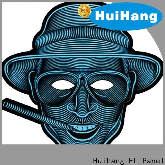 Huihang cool el mask overseas for sport meeting