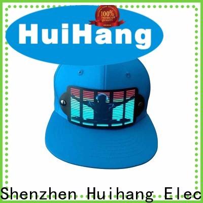 Huihang led caps owner for concert
