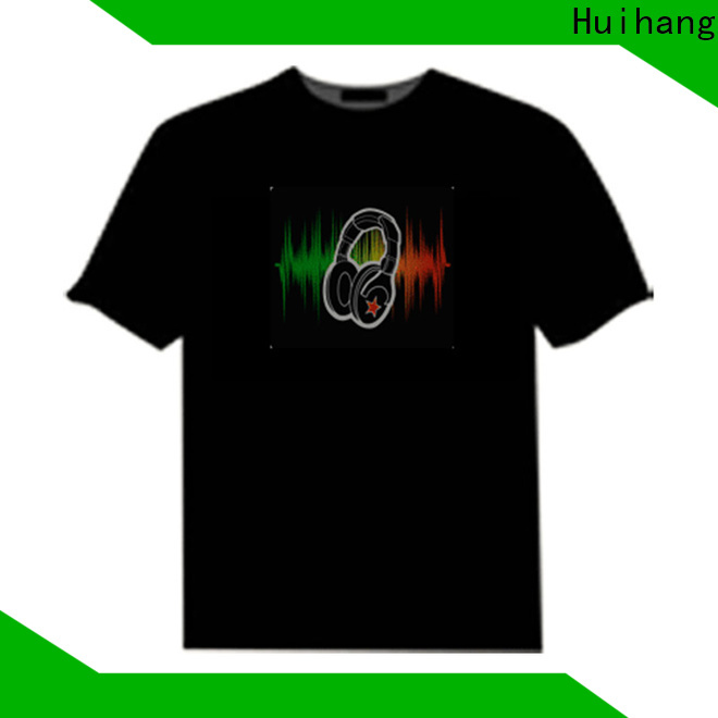 Huihang custom led shirts owner for party