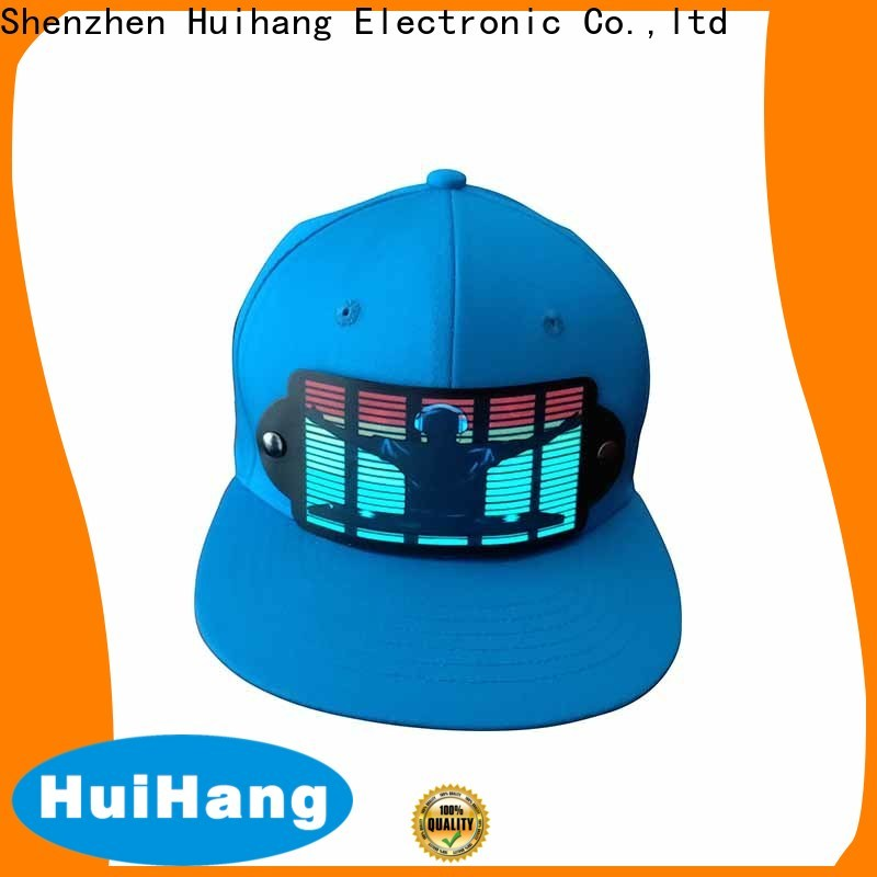 Huihang led caps promotion for disco