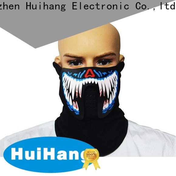 Huihang durable sound activated mask overseas market for party