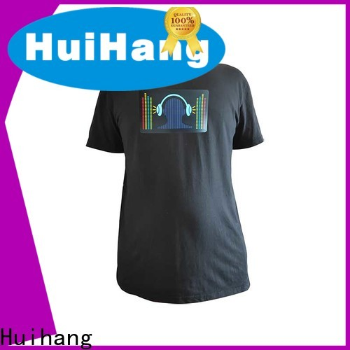 high quality led t shirt owner for party