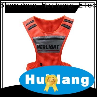 Huihang led safety vest cycling supplier for party