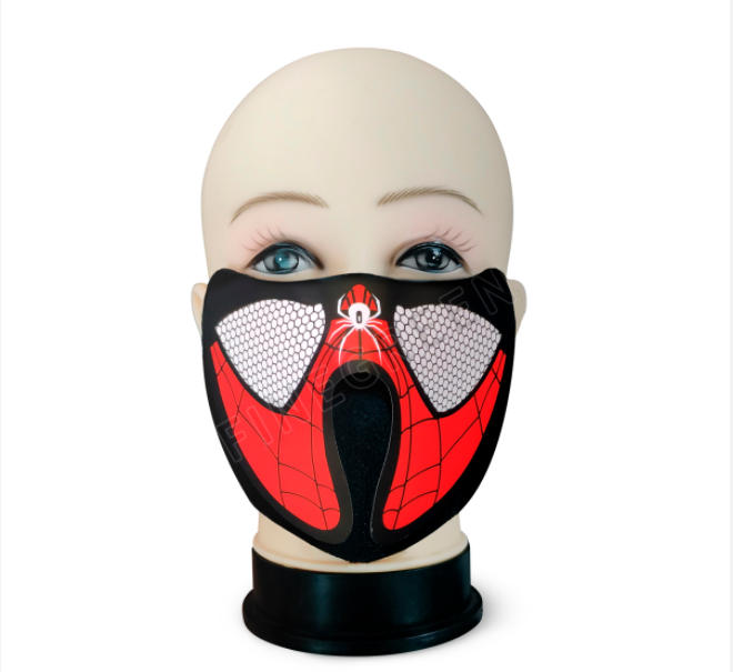 new style el panel mask LED sound activated mask