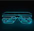 High Quality New Design Colorful El Light Up Wire Glasses For Party Decoration
