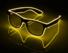 Hot sale Flashing Neon LED Light Up Rave Costume Party DJ EL Glasses