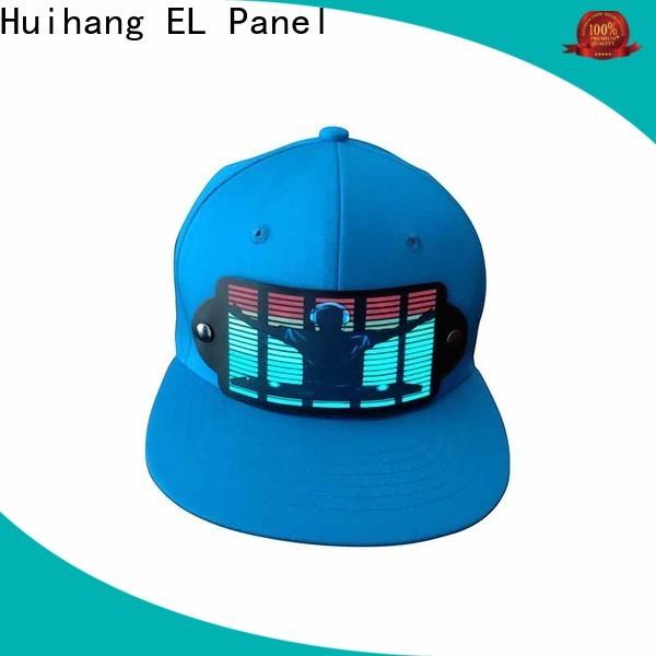 Huihang fashion design led caps manufacturer for concert