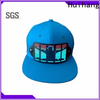 Huihang cool led caps on sale for party