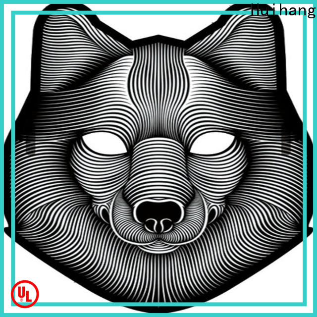 Huihang sound activated mask overseas market for bar