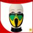 Huihang fashion design light up mask factory price for disco