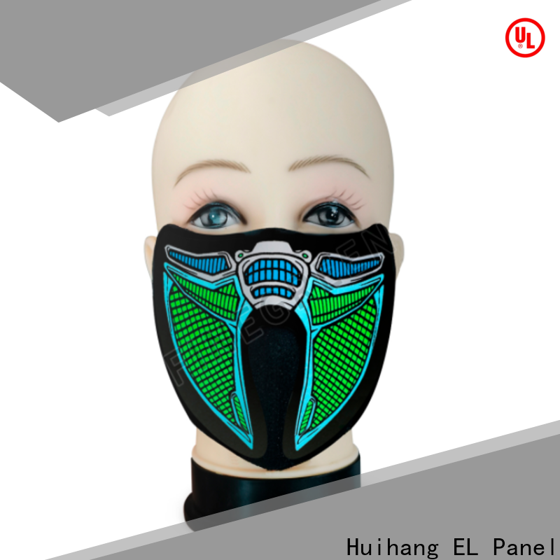 shine light up mask factory price for disco