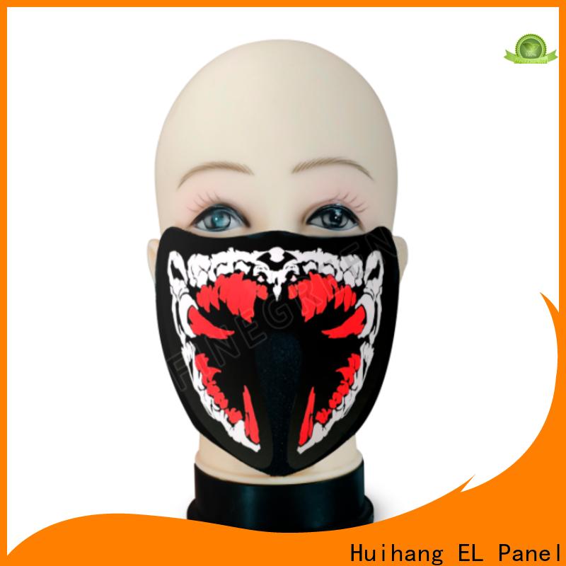 shine el panel mask marketing for disco