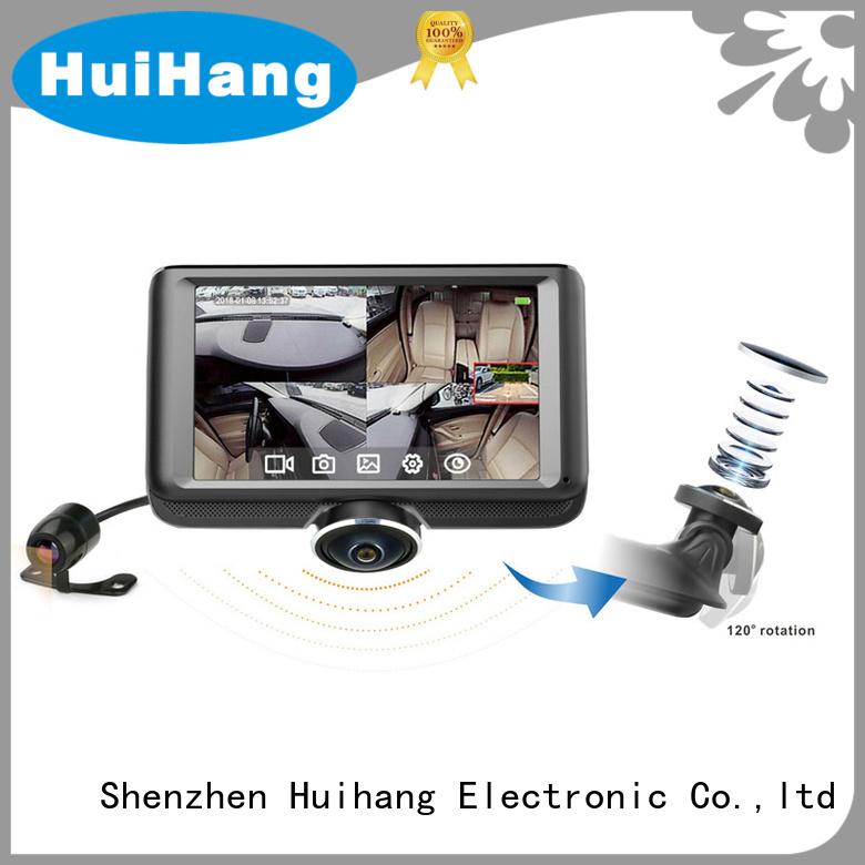 Huihang dual dash cam overseas