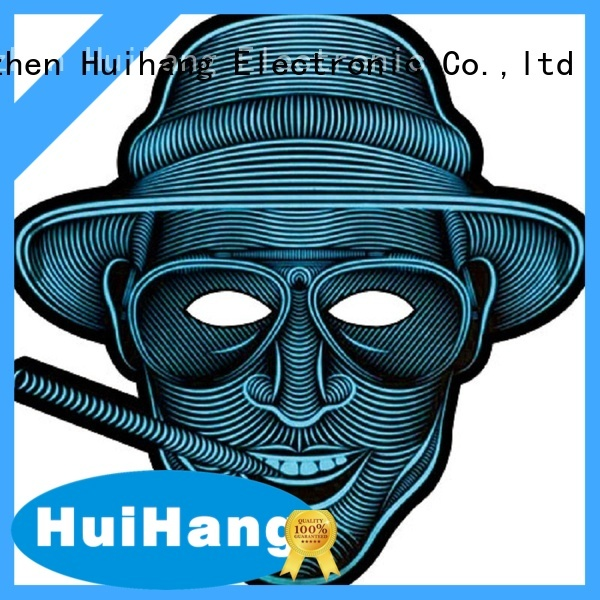 Huihang high quality led mask order now for party