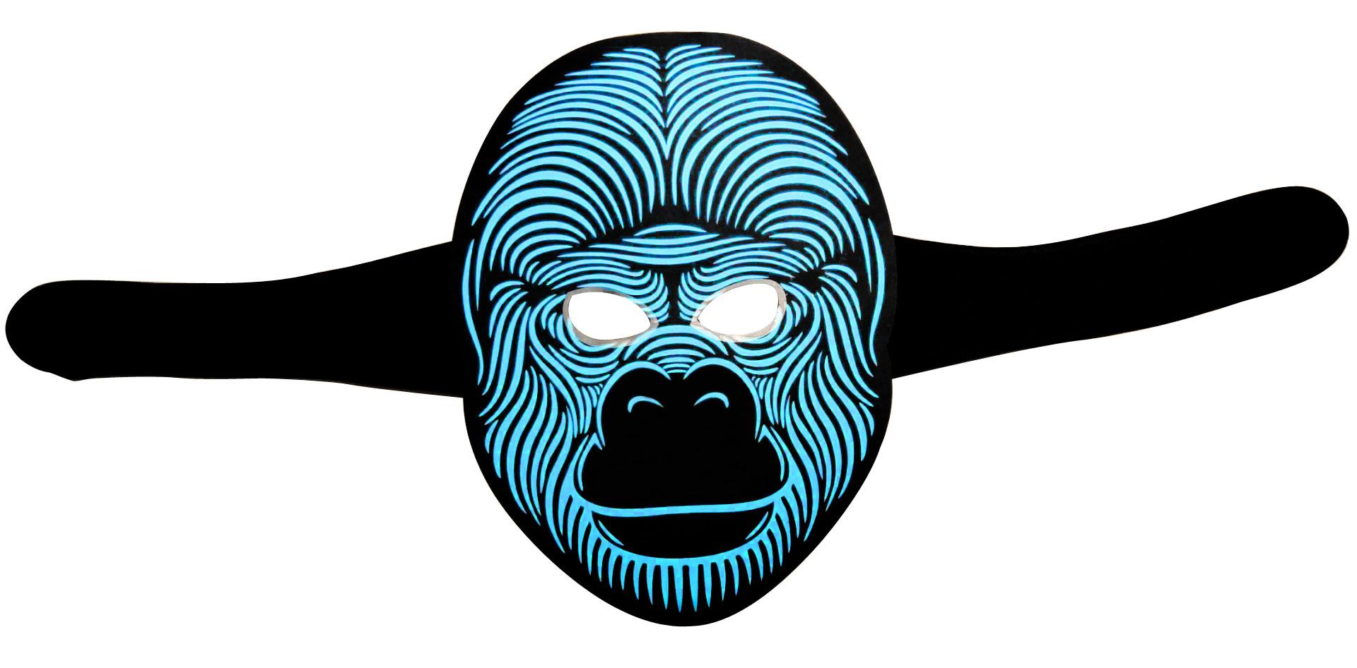 Huihang light up mask vendor for disco-2