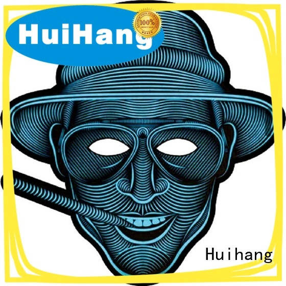 Huihang inexpensive el panel mask marketing for disco