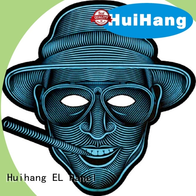 Huihang light up mask marketing for disco