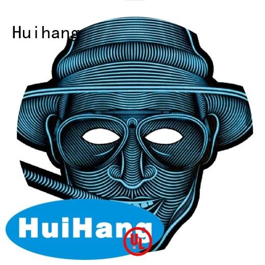Huihang high quality light up mask factory price for bar