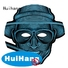 Huihang high quality light up mask factory price for bar
