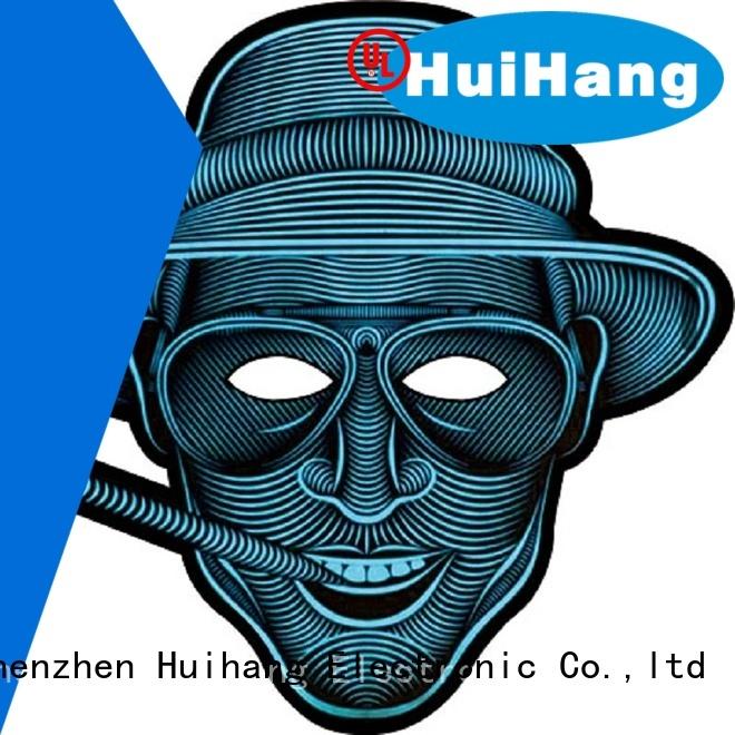 Huihang el mask overseas for bar