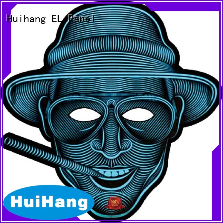 light up mask for concert Huihang