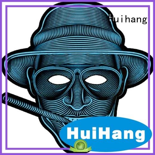 Huihang shine led halloween mask for sport meeting