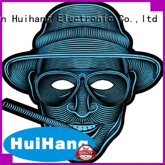 Huihang shine led mask owner for bar